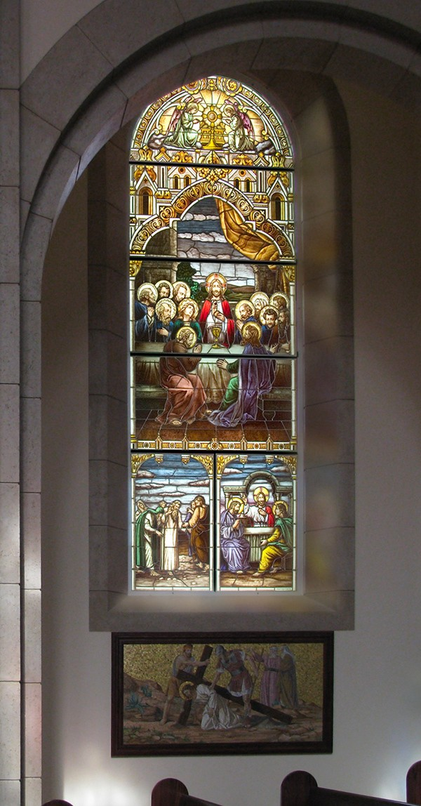 Traditional and medieval stained glass