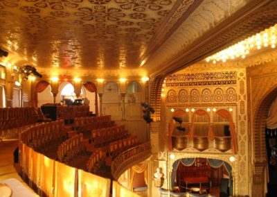Restoration of Mabel Tainter Theatre, Menomonie, WI