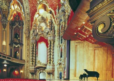 The restored Ohio Theatre, Columbus, Ohio