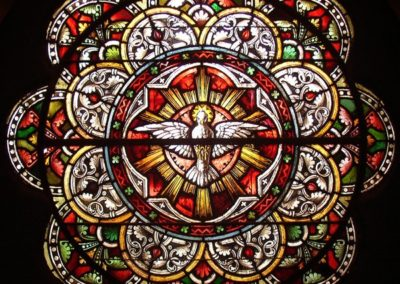 Stained glass conservation for Sacred Heart Cultural Center, Augusta, Georgia