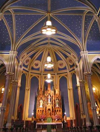 Completed restoration for St. James Catholic Church, Vancouver, Washington