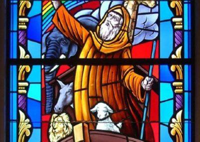 New Noah window for St. Elizabeth Ann Seton Catholic Church