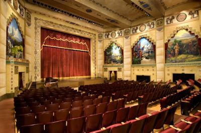 Restored murals reinstalled at the Lincoln Theatre