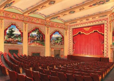 Artists' rendering of the proposed decorative scheme