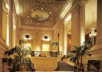 Lobby of the Chicago Hilton, Chicago, IL