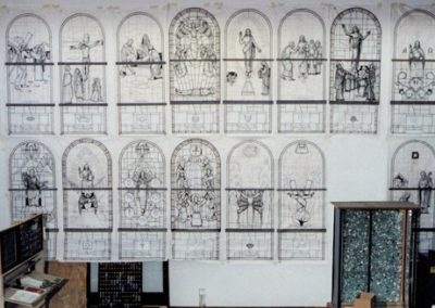 Cartoons of the windows are displayed for approval