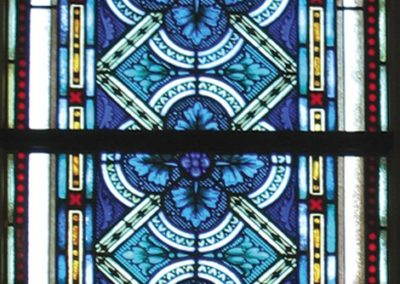 New stained glass windows were created for the Basilica of St. Josaphat
