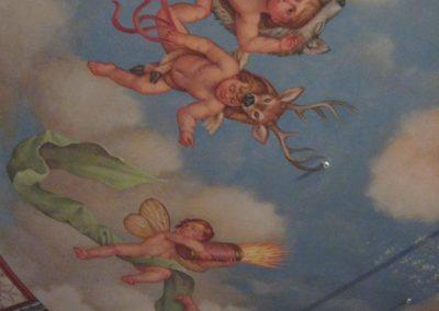 Extensive mural restoration