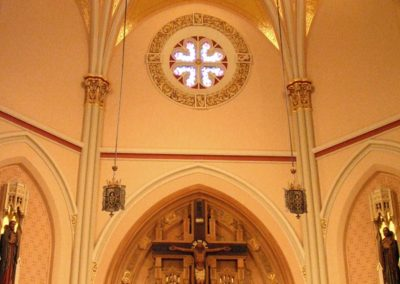 Restored Sacristy of Cathedral of St. Francis de Sales, Houma, LA