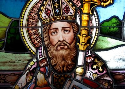 Detail from the St. Augustine window