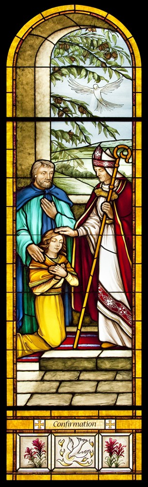 New Confirmation window for Holy Redeemer