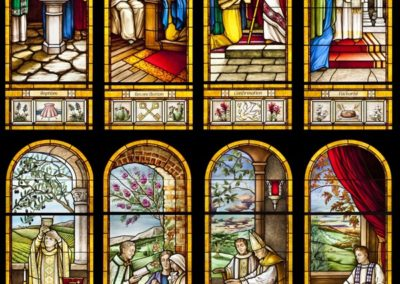 Eight New Stained Glass Windows for Holy Redeemer