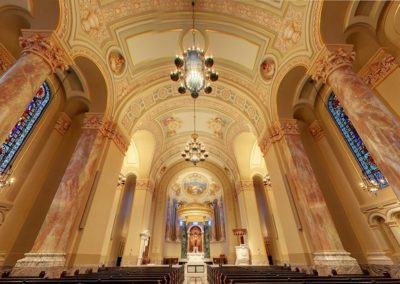 Finished restoration for the Cathedral of St. Joseph