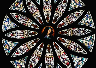 The conserved rose window