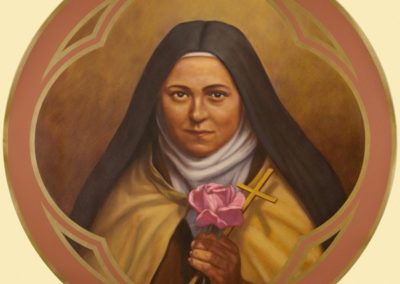 New St. Therese of Lisieux mural - Photo by: Danny Izzo