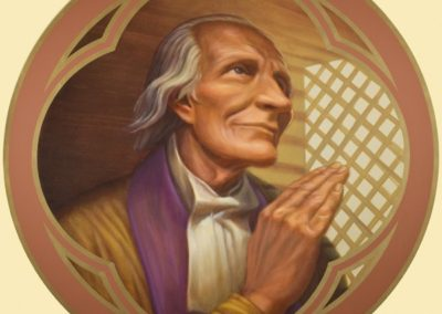 New St. Jean Marie Vianney mural - Photo by: Danny Izzo