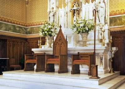 New altar for the Cathedral of St. Peter the Apostle. Photo: Eyd Kazery