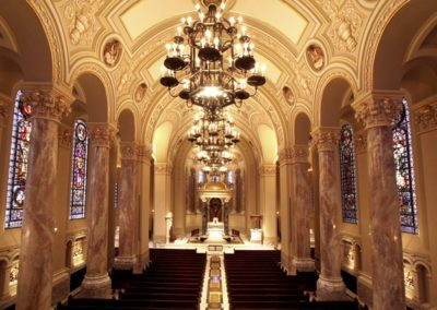 Finished restoration for Cathedral of St. Joseph, Sioux Falls, SD Photo: Kevin Miles