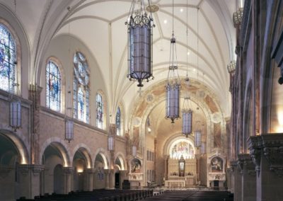 Restoration of the Basilica of Holy Hill, National Shrine of Mary, Help of Christians - Photo: Korom.com