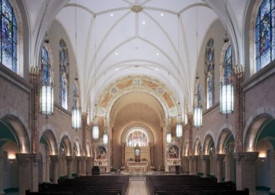 Completed restoration at the Basilica of Holy Hill, National Shrine of Mary, Help of Christians - Photo: Korom.com
