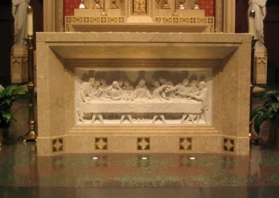New altar at Blessed Sacrament Church, Springfield, IL