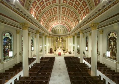 Restoration of the Cathedral Basilica of the Immaculate Conception, Mobile, AL - Photo: Michael Mastro