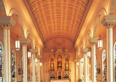 St. Peter Catholic Church, Montgomery, AL - Photo: Korom.com