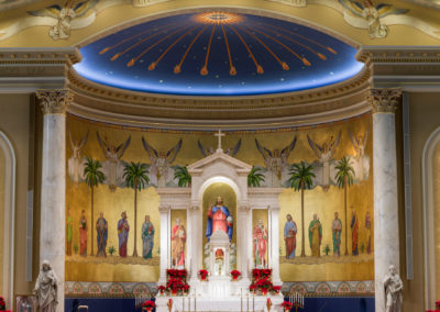 St. Peter Catholic Church in Omaha, Nebraska