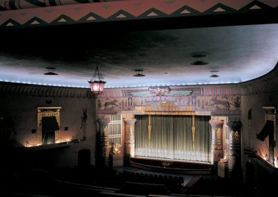 Decorative painting for the Egyptian Theatre, Boise, ID