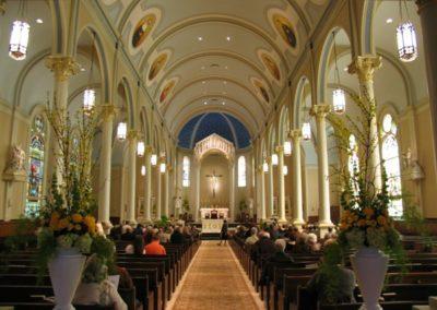 Restoration for St. Mary Magdalen, Abbeville, Louisiana