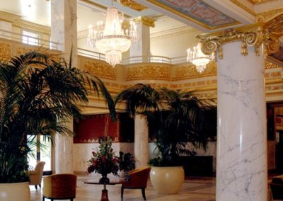 French Lick Springs Hotel lobby - photo: Brooke Yarber Cook Group