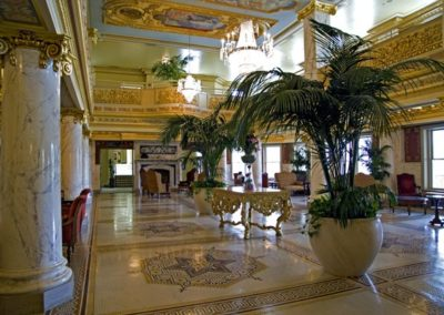 New murals for the French Lick Springs Hotel, French Lick, IN - photo by Photo Concepts Inc.