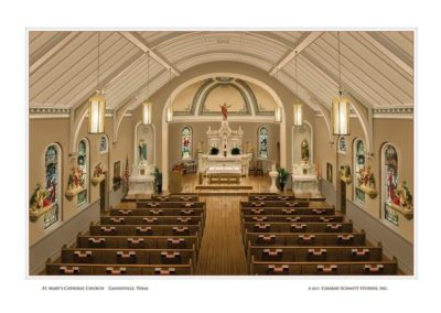 St. Mary's Catholic Church – Gainesville, Texas