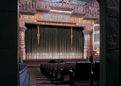 View into the auditorium of the Egyptian Theatre, Boise, ID