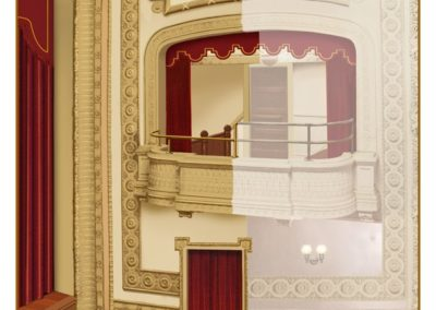 An artist's rendering gives a glimpse of the planned restoration