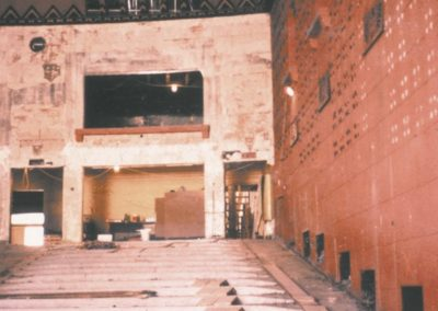 Before image shows the state of disrepair