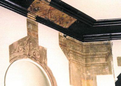 An investigative study exposure window reveals previous decorative work
