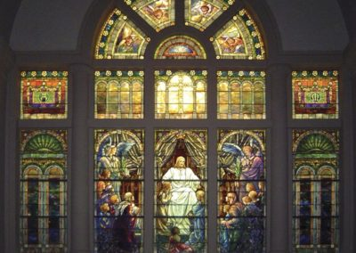 East Window – Christ Blessing Little Children