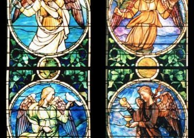 South Transept Windows - Four Symbolic Angels