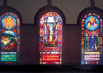 Three conserved windows