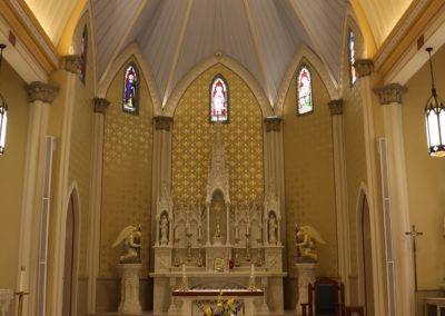 St. Philomena Catholic Church in Labadieville, Louisiana
