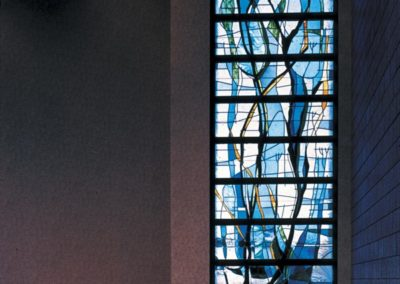 New stained glass for La Porte Hospital's chapel