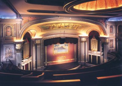 The completed restoration for the Hawaii Theatre