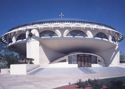 Exterior Exterior of Frank Lloyd Wright's Greek Orthodox Church
