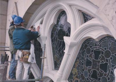 CSS artisans install storm glass