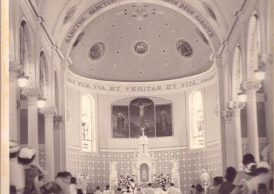 Historic 1953 photo St. Mary Magdalen, Abbeville, Louisiana