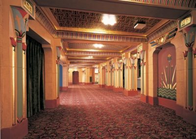 Lobby of the Egyptian Theatre, Boise, ID