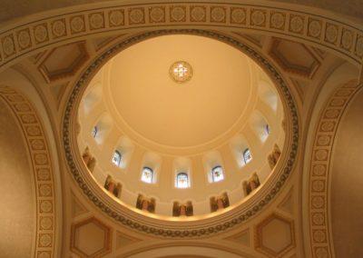 Restored interior of the Monastery - Photo: Bill Sheets