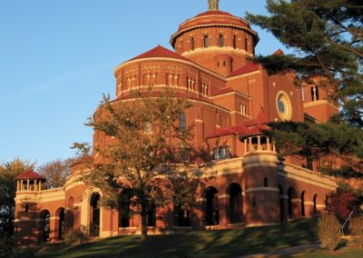 """The Church of the Sisters of St. Benedict, affectionately known as the """"Castle on the Hill"""" - Photo: Bill Sheets"""