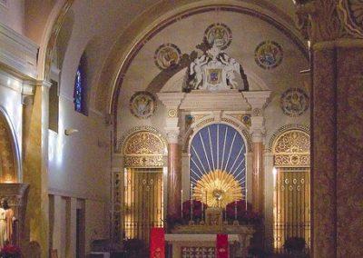 The restored Discalced Carmelite Monastery